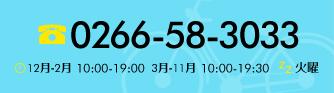 0266-58-3033